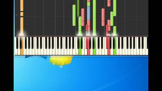 Marillion   The Bell In The Sea [Piano tutorial by Synthesia]