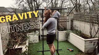 GRAVITY FITNESS PORTABLE PULL-UP RACK UNBOXING/REVIEW