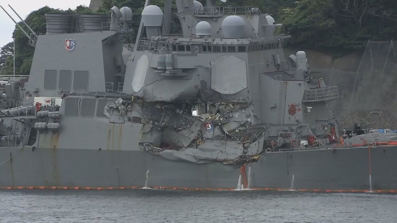 Nεκροί βρέθηκαν οι επτά ναύτες του USS Fitzgerald