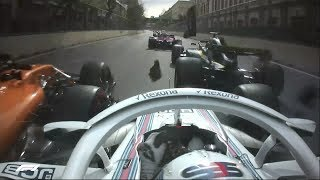 2018 Azerbaijan Grand Prix: Race Highlights