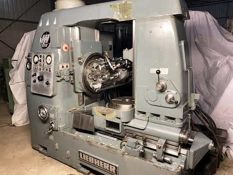 Liebherr L400 Gear Hobbing Machine