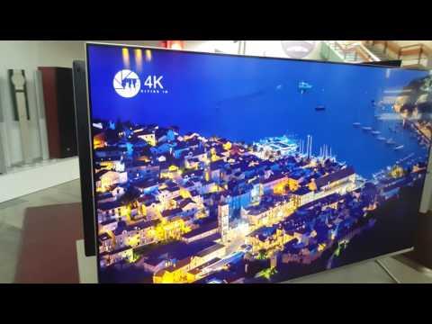 Samsung 55MU7002 - kąty boczne matyeriał 4K.