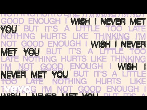 Oh Wonder - I Wish I Never Met You (Official Audio)