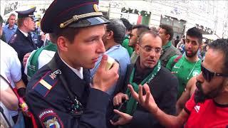 В центре Москвы за день до старта FIFA-2018