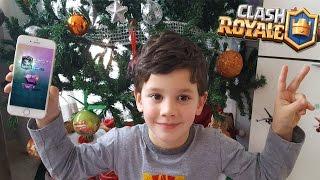 ¡¡¡Mi hijo me consigue el MAGO ELÉCTRICO!!! Abriendo cofres en Clash Royale   Keibron Gamer