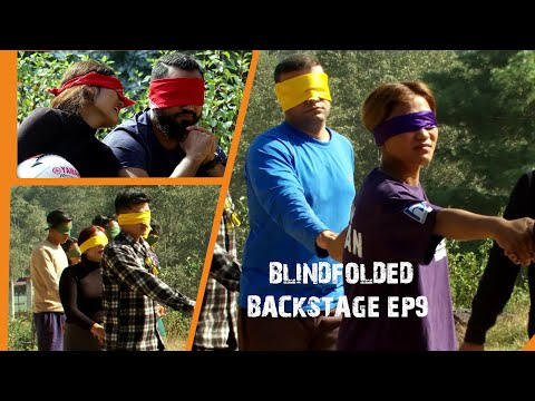 BLINDFOLDED | TASK OR WHAT ? HIMALAYA ROADIES S3  BACKSTAGE EP9