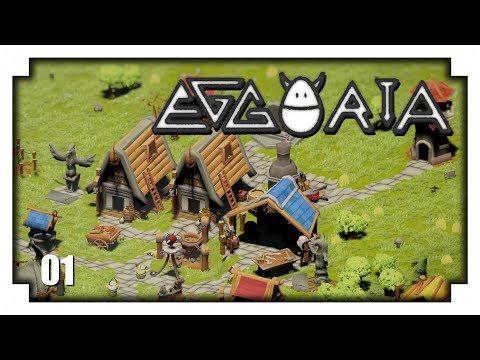 EGGORIA Gameplay Español - Ep1 - Citybuilder muy original