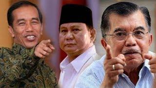 Tanggapi Ujaran Prabowo Indonesia Lenyap 2030, Jokowi Tertawa Sedangkan Jusuf Kalla Sebut Khayalan