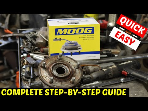 Dodge Journey Front Wheel Bearing Replacement
