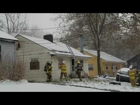 No one injured in Kalamazoo house fire