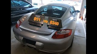 Fixed for $11. 2007 Porsche Cayman from Copart is ready to go.