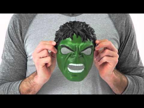 Avengers Hulk muskler og maske