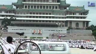 05北朝鮮平壤-金日成廣場-萬壽台銅像