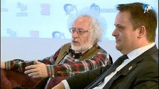 Андрей Никитин и Алексей Венедиктов стали сегодня участниками открытого интервью
