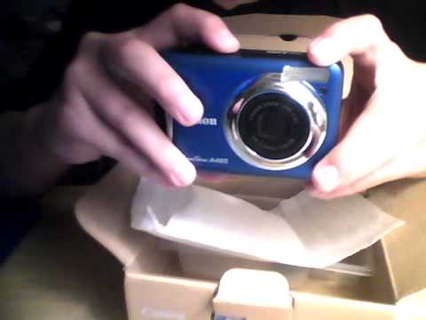 Canon PowerShot A495 unboxing and review
