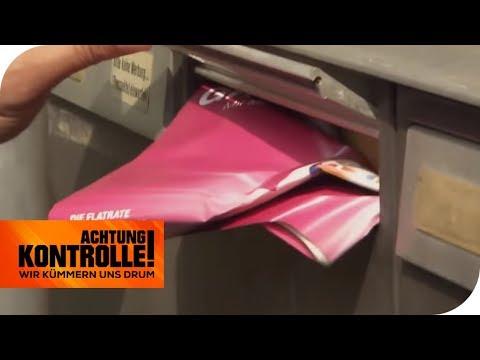 Briefkasten vollkommen überfüllt: Kommt deshalb die Post nicht an? | Achtung Kontrolle | kabel eins