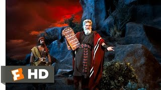 The Ten Commandments (7/10) Movie CLIP - Moses Presents the Ten Commandments (1956) HD