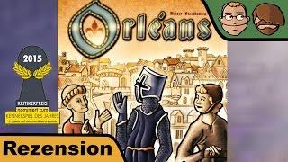 Orléans (nominiert zum Kennerspiel 2015) - Brettspiel - Review