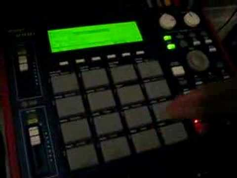 NEW UNKNOWN UNDERGROUND PRODUCER FREAKIN MY MPC REAL QUICK