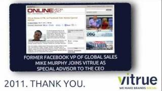 Social Media in 2011: Vitrue's End of the Year Highlights