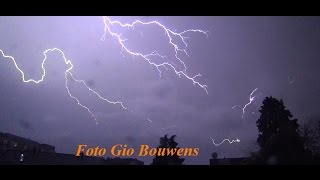 preview picture of video 'Onweer donderdag 18 september 2014 Kerkrade Centrum'