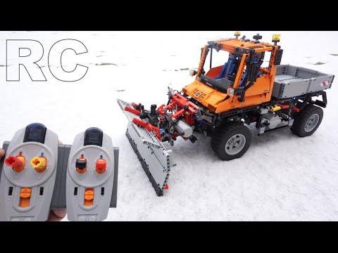 Vidéo LEGO Technic 8110 : Mercedes-Benz Unimog U 400