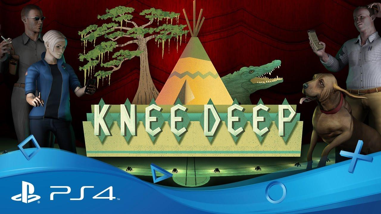 Knee Deep: Ein theatralisches Sumpf-Noir-Abenteuer für PS4, das am 31. Januar erscheint