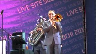 "Джаз-оркестр ""Сибирский диксиленд"", Sochi 2014"