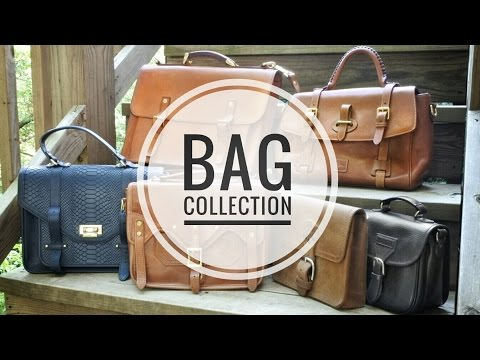 Leather Bag Collection (Whipping Post, JL Foures, Saddleback, Madewell Frye Dooney & Bourke)