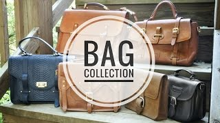 My Best Leather Bags - Collection Video (Whipping Post,  Saddleback, Madewell, Dooney & Bourke)