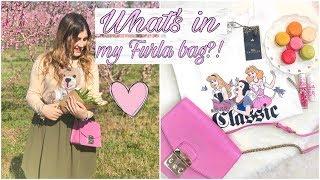 WHATS IN MY FURLA BAG?💕|| Miriana Gibalerio