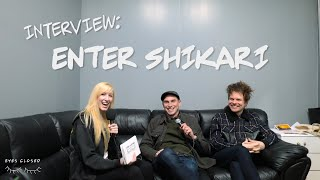 Interview With Enter Shikari - The Lift Incident, Stop The Clocks & Defying Physics