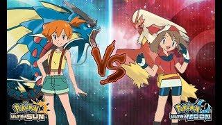 Misty  - (Pokémon) - Pokemon Ultra Sun and Ultra Moon Misty Vs May (Kanto Vs Hoenn Battle)