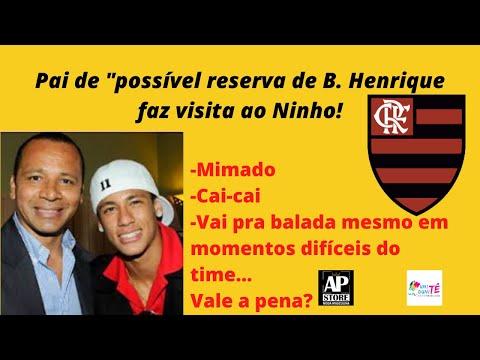 Pai de Neymar visita o Ninho! - Vale a pena se tiver algo??