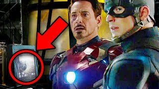 Captain America: Civil War - Easter Eggs & References - MCU Rewatch - Road To Avengers Infinity War