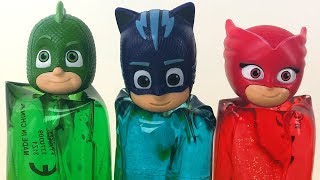 Pj Masks Toys's Wrong Heads are Coming out from Colorful Gels