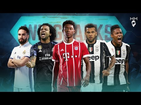 Top 10 Wing Backs in Football 2017 ● HD