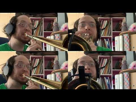 This is part of my YouTube series of video game theme arrangements for Trumpet and Trombone.