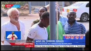 Most wanted drug lord baron nabbed in Mombasa alongside eleven others