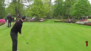 Golf Monthly Putting Challenge - Branden Grace