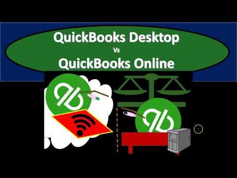 QuickBooks Desktop 2021 Vs QuickBooks Online