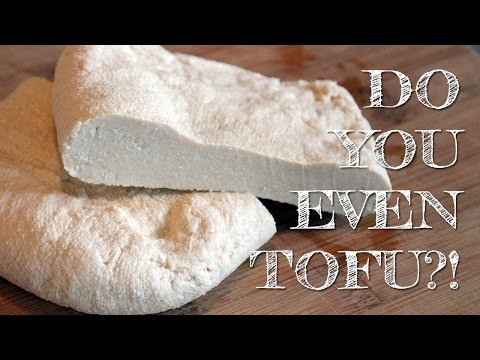 How To Make Tofu (with just soymilk, lemon and water!)   DIY