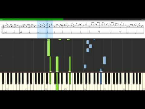 Coldplay - Postcards from far away [Piano Tutorial] Synthesia