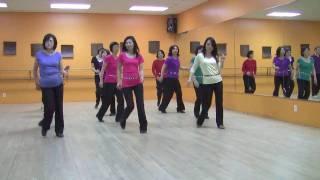 Unchain My Heart - Line Dance (Dance & Teach in English & 中文)