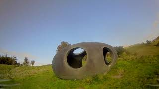 Ruins Rocks and Sculpture, Fpv flights round the Yorkshire Lancashire countryside with tiny drones.