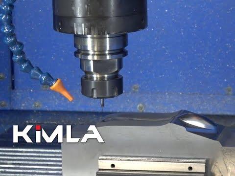 Frezowanie form stalowych 3D na BFN Linear