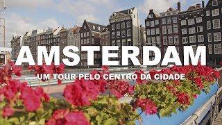 Um tour pelo centro da cidade - Amsterdam | Holanda - Ep. 1 | Kholo.pk