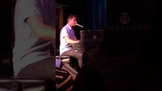 Jon McLaughlin - Anthem For American Teenager - #IndianaTour2017 Boston MA