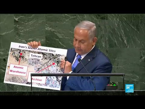 Israel's Netanyahu hits out at Iran during UN General Assembly