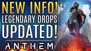 Anthem - NEW UPDATES! Legendary Drops Update Is LIVE! Power Scaling and New Armor Sets!